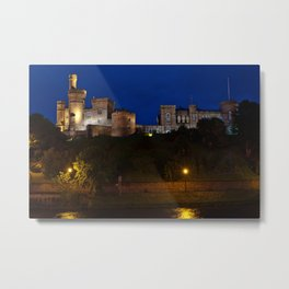 Inverness Castle Metal Print