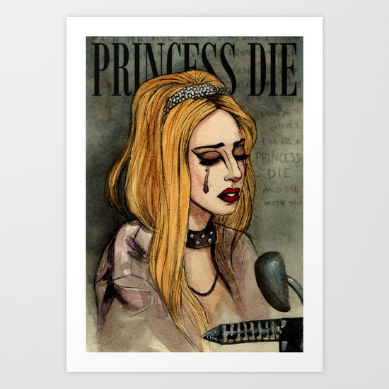 Princess Die Art Print