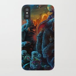 Crazy Rider iPhone Case