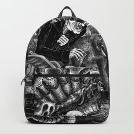 Fear Is The Devil Backpack