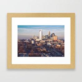 Queen City Framed Art Print