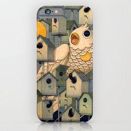 Birdhouses iPhone Case