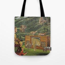 4K television Tote Bag