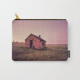Abandoned Stone House on The Prairie Carry-All Pouch