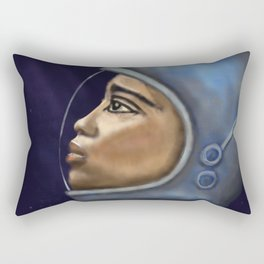 Looking into the Unknown Rectangular Pillow
