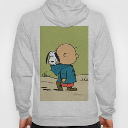 snoopy walk in the forest Hoody