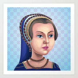 Lady Jane Grey, Queen for a day Art Print