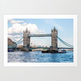 Tower Bridge, London, England Art Print