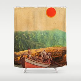Eternal Noons Shower Curtain