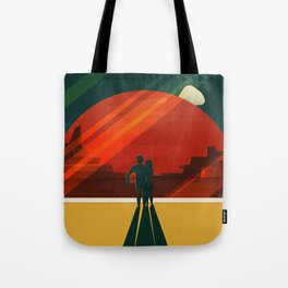 SpaceX Mars tourism poster / DP Tote Bag