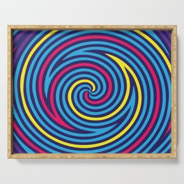 Hypnose. Colours Serving Tray