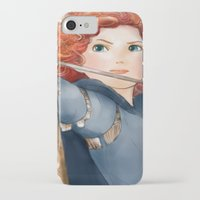 merida iPhone & iPod Cases featuring Merida  by Teddy Wade