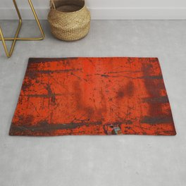 Red Roof Hatch Rug