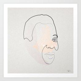 Half a Pelé Art Print