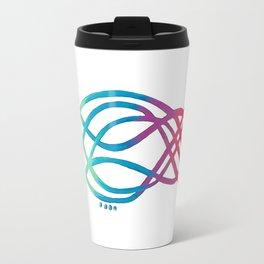 Electric Rainbow Travel Mug