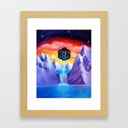 The Seed Of Life Framed Art Print