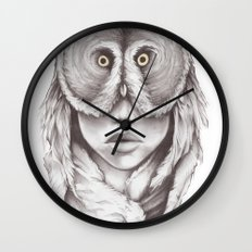 Owlhead Wall Clock