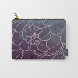 mystic dark peony flower Carry-All Pouch