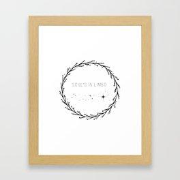Soul's In Limbo Framed Art Print