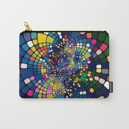 Mirror Abstract Background Carry-All Pouch