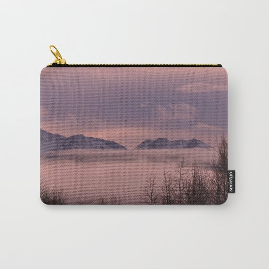 Rose Serenity Winter Fog - II Carry-All Pouch