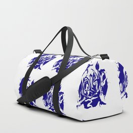face4 blue Duffle Bag