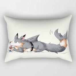 Secret Shark Sipper Rectangular Pillow