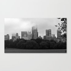 fog in city... Canvas Print