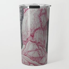 Ice Waterfall Travel Mug