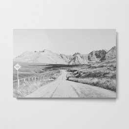 ON THE ROAD XXI / Scotland Metal Print