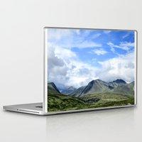 norway Laptop & iPad Skins featuring Rondane - Norway by AstridJN