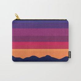 Over The Sunset Mountains Carry-All Pouch