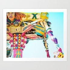 Love A Fair . . . The Fighter  Art Print