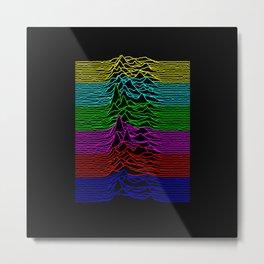 Joy Division - Unknown Televised Pleasures Metal Print