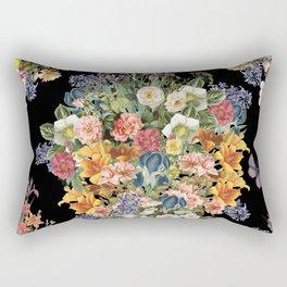 Lush Baroque Floral Rectangular Pillow