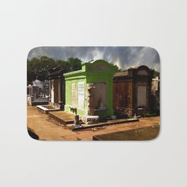 Lafayette Cemetery - Green Tomb Bath Mat
