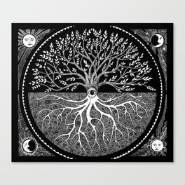 Druid Tree of Life Canvas Print