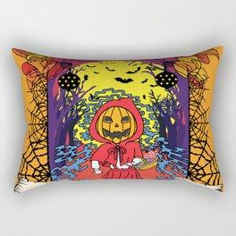 Jack o Red Riding Hood Rectangular Pillow