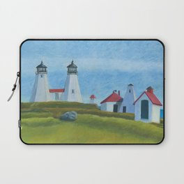 Plymouth Lighthouse Laptop Sleeve