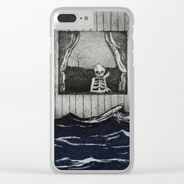 The overflow Clear iPhone Case