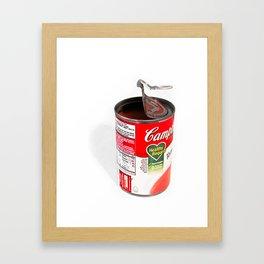 Ode To Warhol Framed Art Print