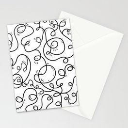 Conversation Loops Stationery Cards