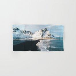 Iceland Mountain Beach - Landscape Photography Hand & Bath Towel