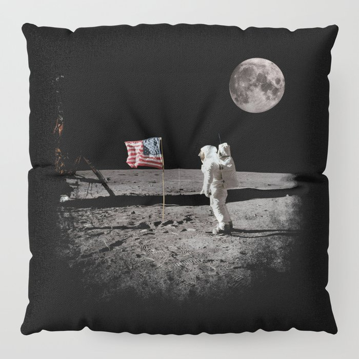 The Great Conspiracy: The Moon Is a Lie Floor Pillow