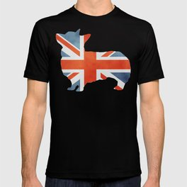 Union Jack Corgi T-shirt