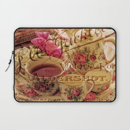 Teacup and Roses 3 Laptop Sleeve
