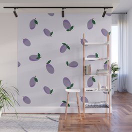 Plums Wall Mural