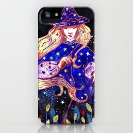 The beautiful herbal witch iPhone Case