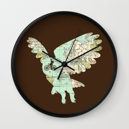 World Traveler Wall Clock