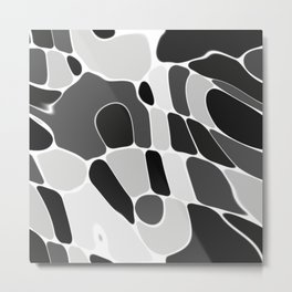 Funky Abstract 4 Metal Print